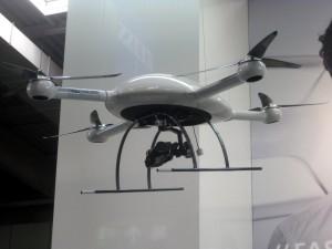Die neue MD4-3000 von der microdrones GmbH, bekannt für seine guten Kontakte zur chinesischen Elite-Polizei